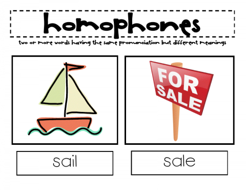 homophones sign AshTutors.co.uk